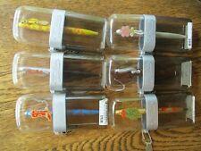6 Vintage Genuine Clip Art Collectible Pens Taxi, mistle, logo, cigar,boot,bride
