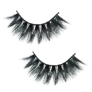 QUALITY 100% Luxury 4D Mink Eyelashes STRIP 💗 LASHES FALSE WISPY Glue Set