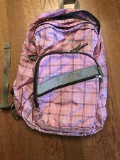 LL BEAN Jr. School Aged CHILD BACKPACK BOOK BAG-Pink Embroidered Name Emma