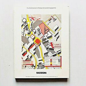 Rassegna n. 54 1993 Rivista Architettura Ricostruzione in Europa Milano BBPR