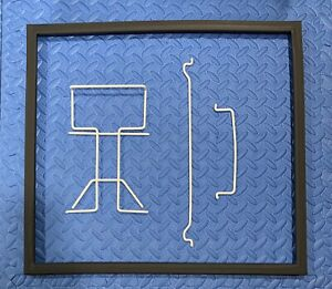 WHIRLPOOL FRIG.DOOR GASKET and 3 SHELF GUARDS FOR #WH31S1E MINI FRIG., see pics.