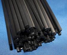 Kunststoffschweißdraht PE-HD  Schwarz 5mm Dreikant 10 Stäbe Kunststoffschweissen