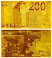 """★★ EUROPE : BILLET POLYMER  """" OR """" DU BILLET DE 200 EUROS ★★★"""