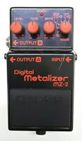 BOSS MZ-2 Digital Metalizer Guitar Effects Pedal MIJ 1990 #19 Free Shipping