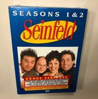 Seinfeld Seasons 1 & 2 [DVD] Brand New and Sealed