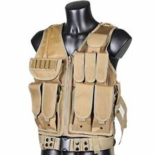 Tactical Military Mesh Combat  Airsoft SWAT Police Vest