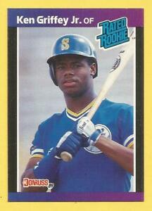 KEN GRIFFEY JR. Baseball Singles & Parallels /You Pick The Cards (With Pictures)
