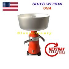 CREAM SEPARATOR 80-100L/h 120 V USA/CA PLUG  #18 Metal+ FREE SHIPPING FROM USA