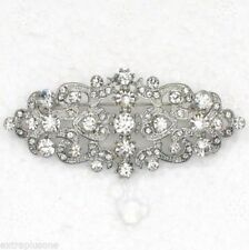 Crystal Diamante Stone Costume Brooches & Pins
