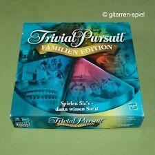 Trivial Pursuit Familien Edition mit 2400 Fragen ab 8 Jahren ©2001 Parker 1A Top