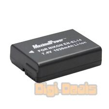 Camera Battery For Nikon ENEL14 Fully Decoded NIKON D3200 D3100 D5100 P7000