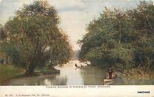 C-1910 Chicago Illinois Fishing boats Hammon postcard 6500
