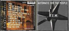 CD 12T R.E.M. AUTOMATIC FOR THE PEOPLE 1992 ( YELLOW TRAY / CLUB EDITION) EUROPE