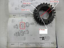 INGRANAGGIO MOLTIPLICATORE Z 22 FIAT 684 1° S OM 150 159 FIAT 4628856 CEI 146008