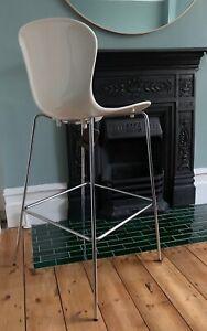 x1 Elegant Fritz Hansen Nap Counter/Bar Stool Milk White rrp £520