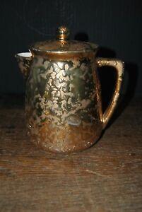 Mccoy Gold Sunburst Coffee Pot
