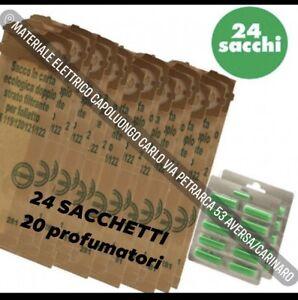 SACCHETTI FOLLETTO VK 120 121 122- 24SACCHETTI 20 PROFUMINI COMPATIBILI VORWERK