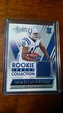 2014 Panini Absolute Rookie Jersey Collection #DM Donte Moncrief Football Card