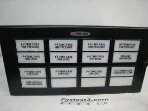 Ametek Panalarm Annunciator Control 70 718 Panel16 Modules with 17 Cards