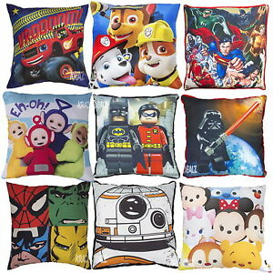 Official Licensed Character Square/Shaped Cushions Marvel Lego BOYS GIRLS