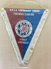 GAGLIARDETTO CALCIO UFFICIALE AUSTRALIA F.C. LEICHHARDT TIGERS A.P.I.A. SIDNEY