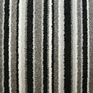 STAIR OR HALL CARPET RUNNER Silver Grey Black Cream made to measure modern trend