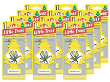 Little Trees Hanging Car and Home Air Freshener, Vanillaroma Scent - Pack of 12