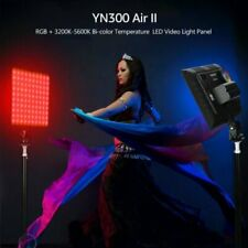 YONGNUO YN300 Air II LED Video Light RGB 3200K-5600K for Photography + Adapter