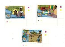VINTAGE CLASSICS - Sierra Leone 1045-7 Mano River 89 - Set Of 3 - MNH