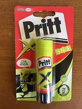 2 x Pritt Glue Stick X-TREME GREEN 20g (Solvent Free, Washable- Goes on Green)
