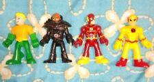 Imaginext DC Super Friends Figures Lot of 4 Aquaman, Black Manta, Flash, Zoom