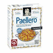 1 PACKET - PAELLERO / PAELLA Gewürz mit safran aus SPANIEN - CARMENCITA