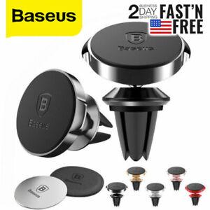 Baseus Metal Car Phone Holder Mobile Phone Holder Stand Air Vent Mount Magnetic