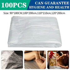 Us 100Pcs Disposable Beauty Bed Massage Table Couch Cover Massage Spa Bed Sheet