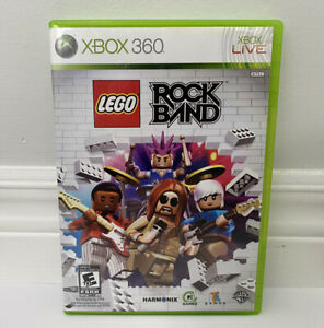 LEGO Rock Band (Xbox 360) Complete GOOD CONDITION