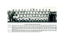 1954 WORLD CHAMPION CLEVELAND BROWNS TEAM 8x10 PHOTO JAMES GRAHAM FOOTBALL HOF