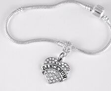 Dance mom  charm Bracelet Dancer Mom Gift Dance Mom Present Dance Mom best gift