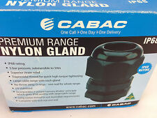 CABAC	GN20	Nylon cable gland IP68 - Box of 18
