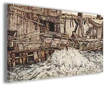 Quadro moderno Egon Schiele vol XXI stampa su tela canvas pittori famosi
