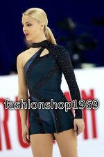 New Figure Ice Skating Dress Baton Twirling Dance Dress Custom Competition xx226