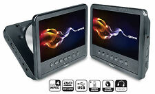 Lenco MES-212 tragbarer DVD-Player 17,78cm (7Zoll) 2. Monitor, USB !