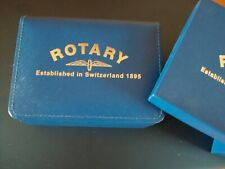 ROTARY JEWELLERY CASE LB11619/03 IN BLUE WITH MATCHING STORAGE BOX