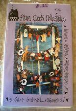 PLUM CREEK 3 GREAT GARLANDS & ORNAMENTS PATTERNS
