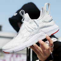 Mens Casual Sneakers Leather Running Shoes Tennis Shoe for Men Walking Baseball