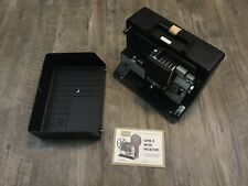 VINTAGE Sears Projector Easy-load Super With Original Case  - Tested And Works!