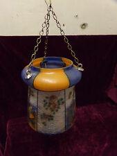 GLASS SHADE HANGING HALL LAMP HALL LANTERN