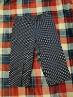 Nwt Womens Alfred Dunner Polka Dot Pull on Capris Size 8p