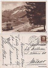 # CEPINA: SULLA SOGLIA DELLA GRANDE CONCA DI BORMIO  (corriera in p/p)  1935