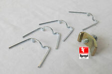 Neuf ROYAL ENFIELD PHARE CLIPS FIXATION, VIS & PLAQUE