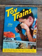 Toy Trains Magazine May 1953
